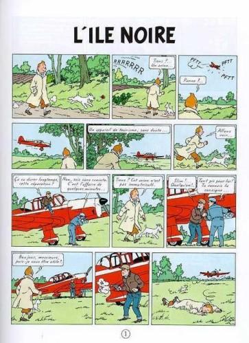 Tintin-tome-7--L-ile-noire_-planche