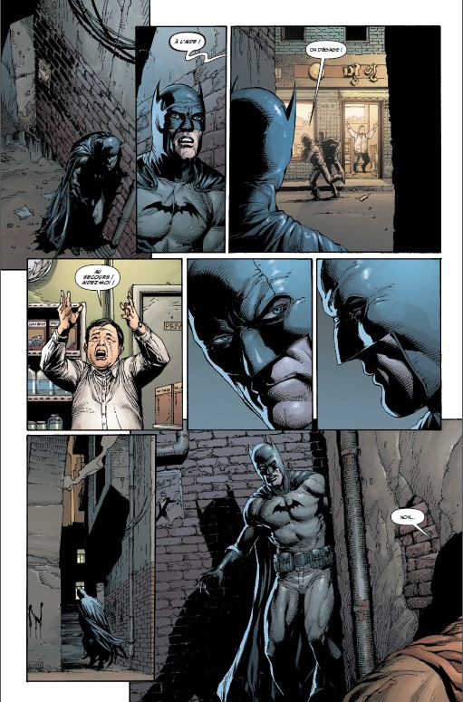 Batman Terre-Un tome 1_ planche