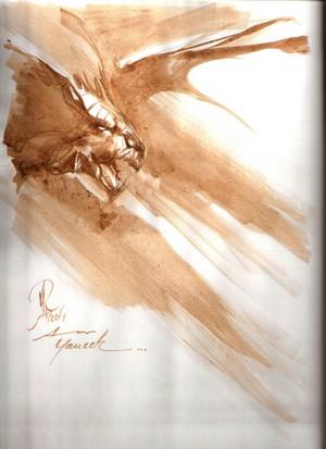 Dédicace Alberto Varanda- Geste des chevaliers dragons
