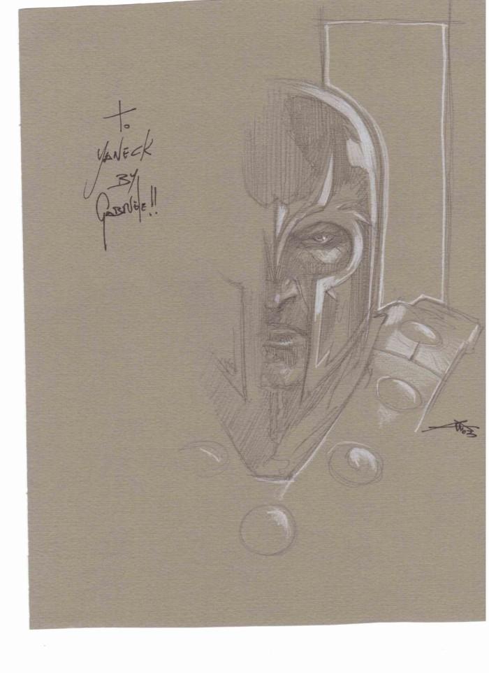 Dédicace Gabriele Del'Otto- Magneto