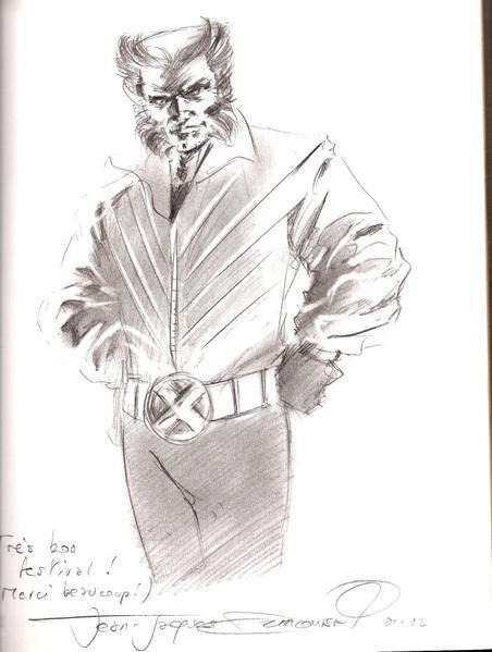 Dédicace Jean Jacques Dzialowski- Wolverine
