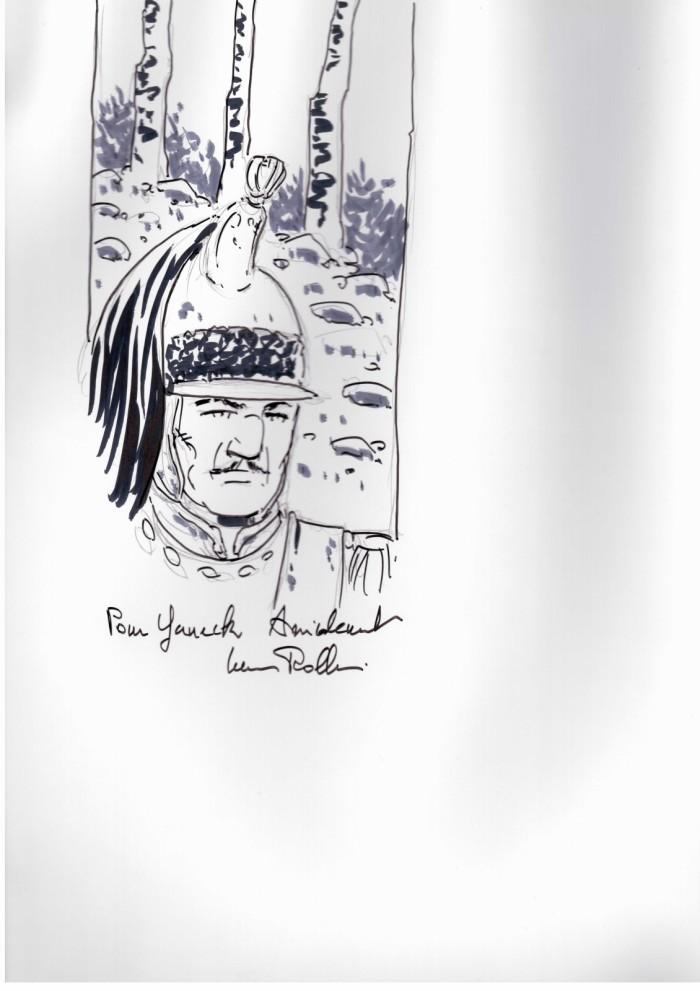 Dédicace Lucien Rollin Décalogue