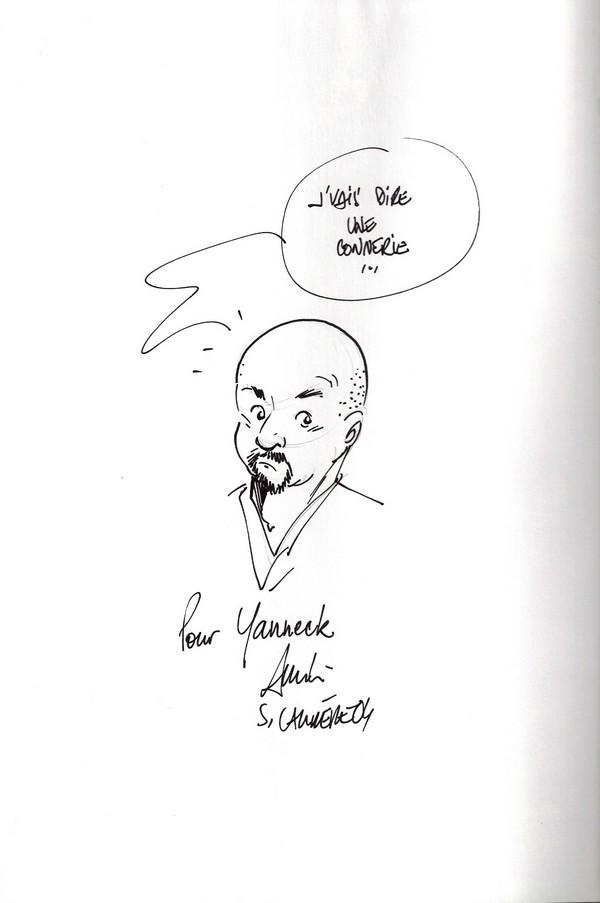 Dédicace Serge Carrère- Barthez