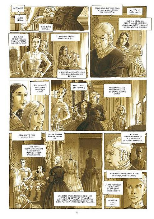 Holmes tome 2_ planche