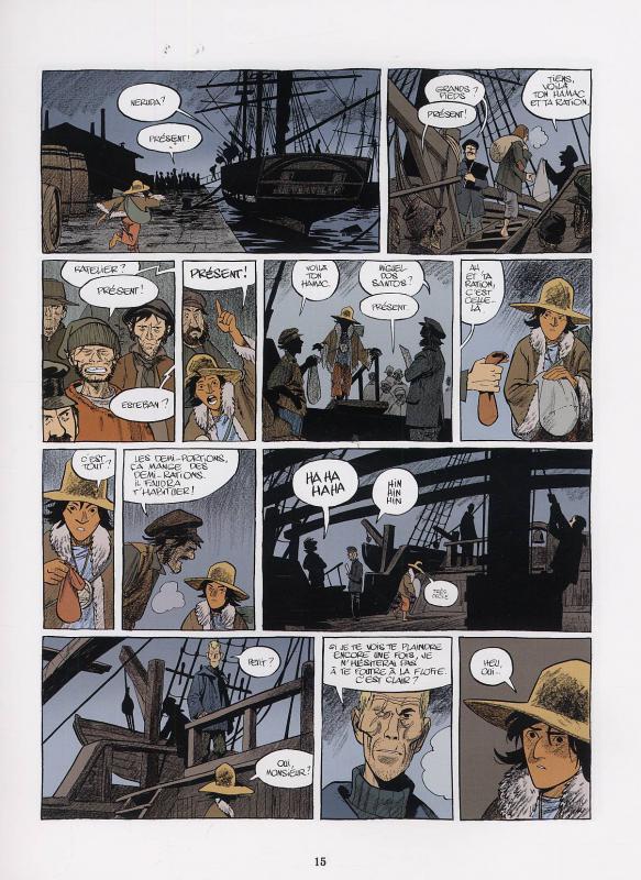 Le voyage d'Esteban tome 1_ planche