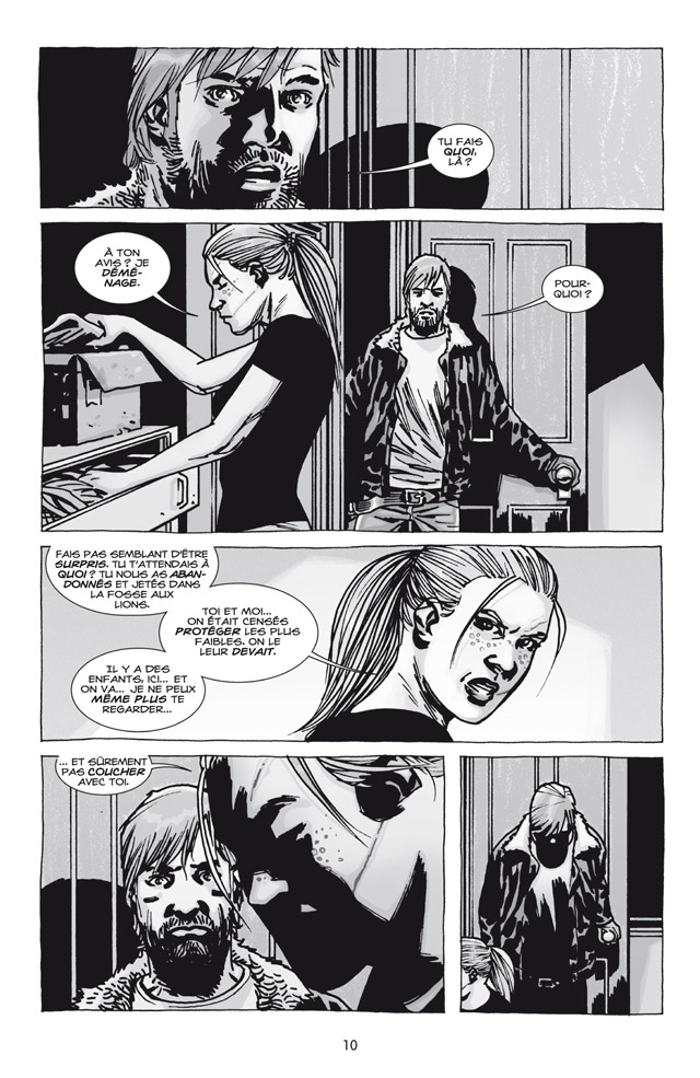 Walking Dead tome 18_ planche