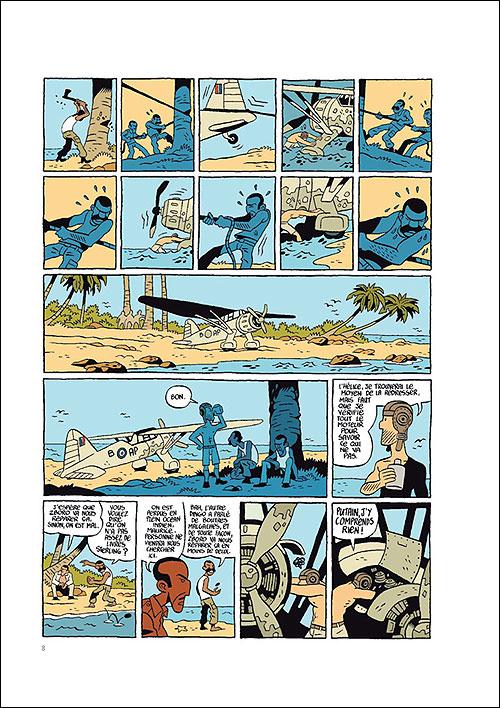 Commando Colonial tome 2_ planche