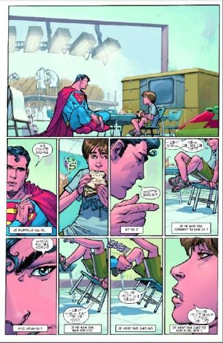 Geoff-Johns-presente-Superman-tome-1_-planche