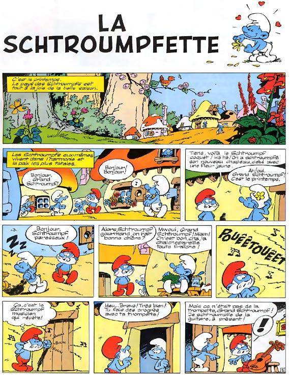 Les Schtroumpfs tome 3_ planche