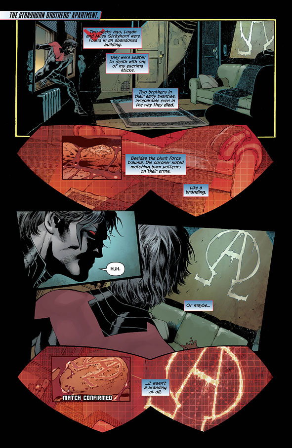 Nightwing tome 2_ planche