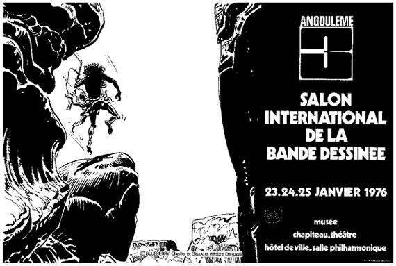 Affiche Angoulême 1975 Giraud Eisner