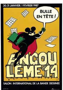 Affiche Angoulême 1987 Lob