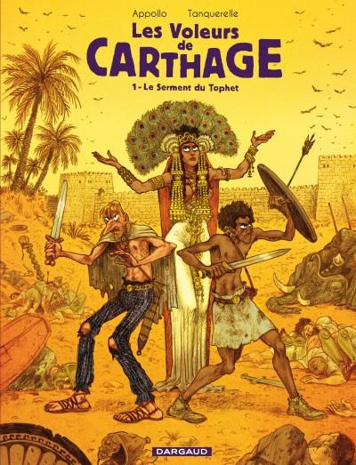 Les voleurs de Carthage tome 1