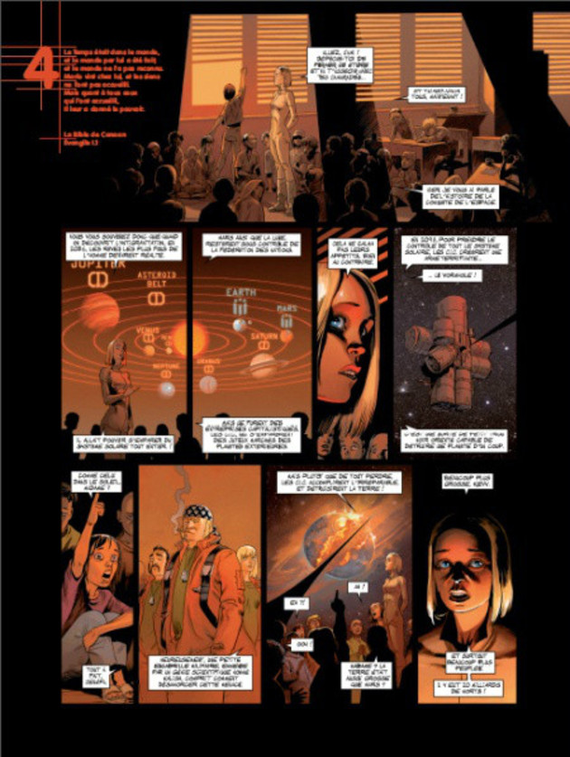 Universal War Two tome 1_ planche