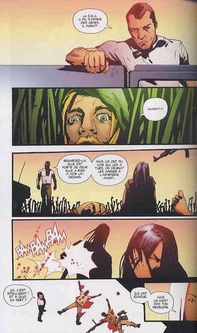 Green Arrow Année Un_ planche
