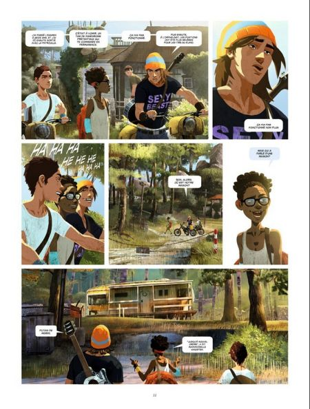 Gung Ho tome 1_ planche