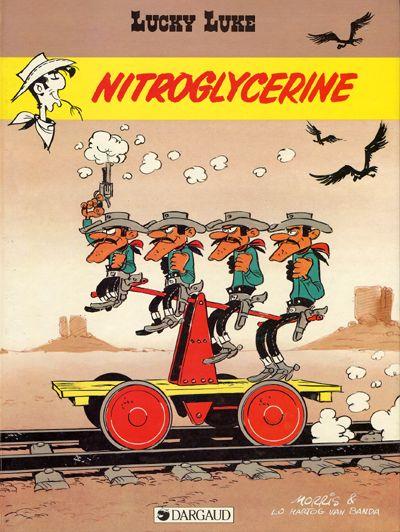 Lucky Luke tome 57 Nitrogyclerine