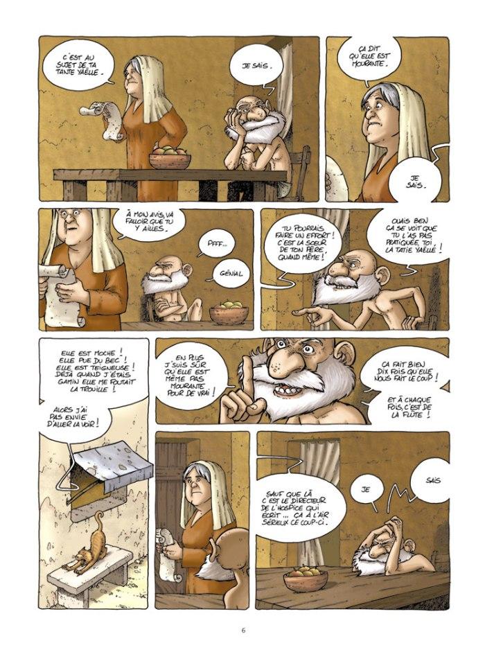 L'exode selon Yona tome 1_ planche