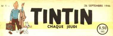 Logo journal de tintin