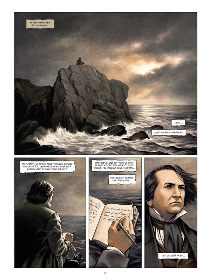 Victor Hugo Aux frontières de l'Exil_ planche