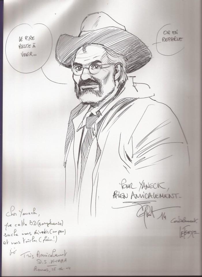 Dédicace Frédéric Peynet M'Enfin Avril 2014