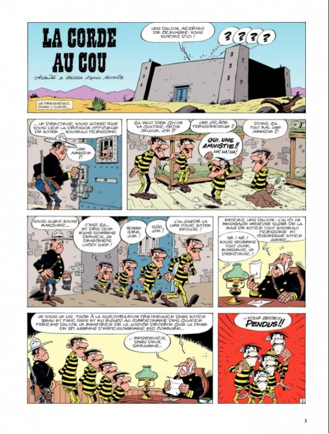Les aventures de Lucky Luke tome 2_ planche