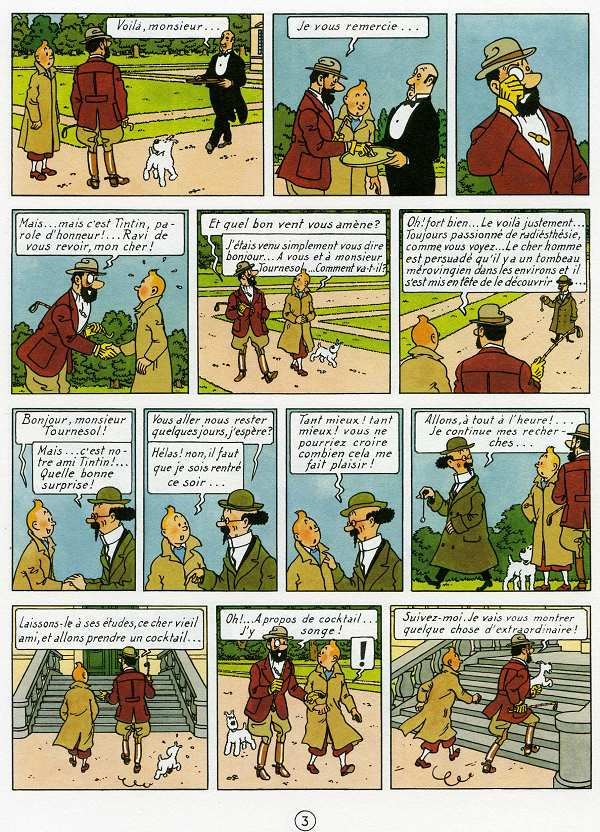 Tintin tome 13_ planche