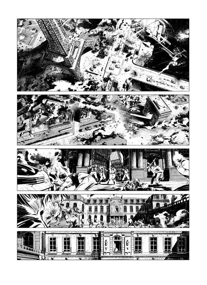 Zombies néchrologies tome 1_ planche nb
