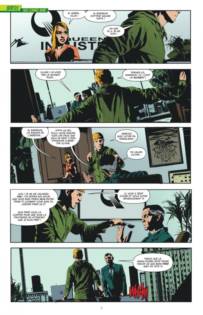 Green Arrow tome 1_ planche