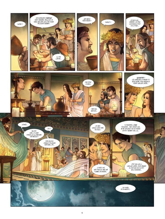 Alexandre l'épopée tome 1_ planche