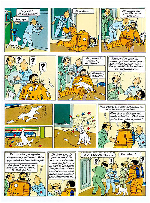Tintin tome 16_ planche