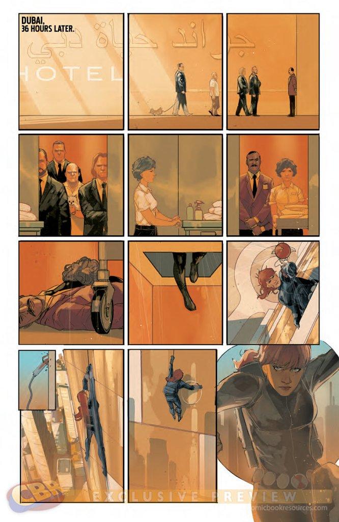 Black Widow tome 1_ planche