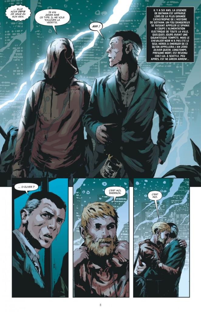 Green Arrow tome 2_ planche