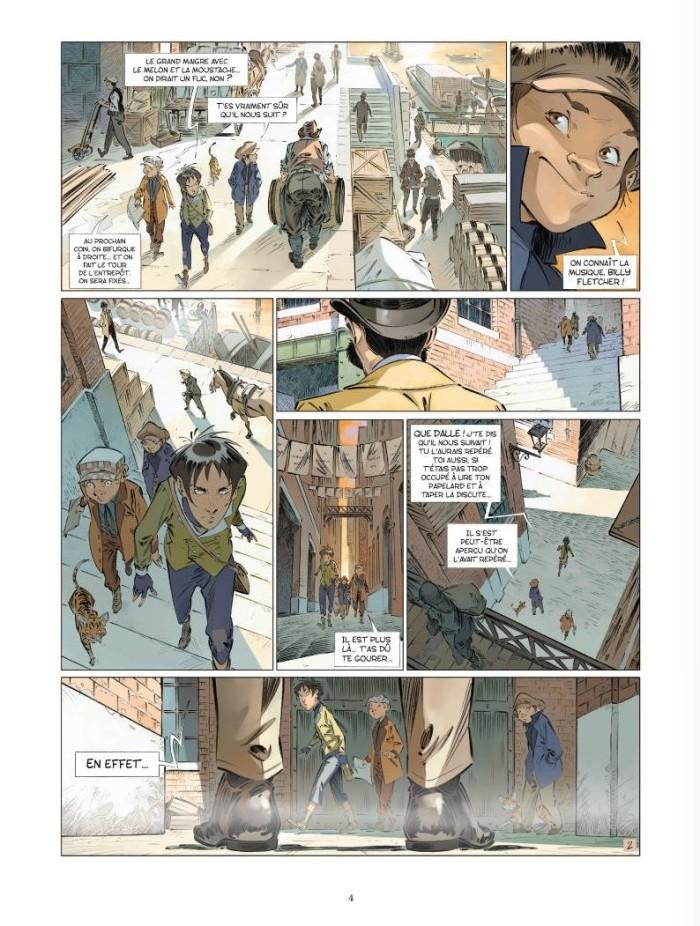 Les quatre de Baker Street tome 5_ planche