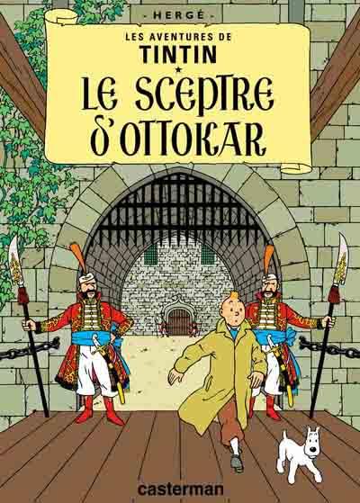 Tintin--Le-sceptre-d-Ottokar
