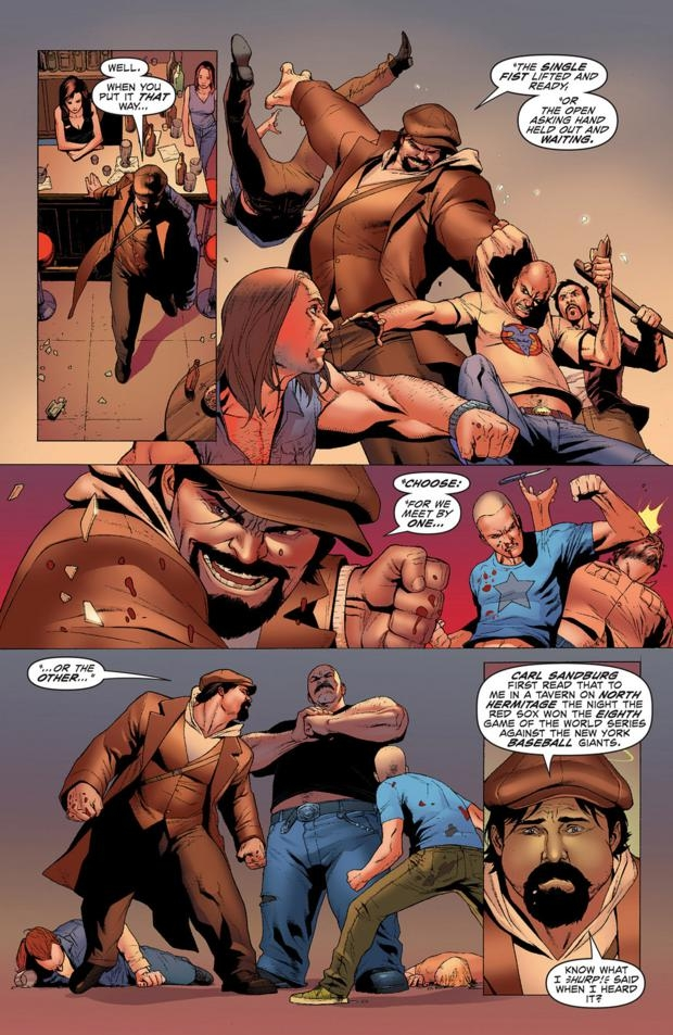 Archer and Armstrong tome 1_ planche