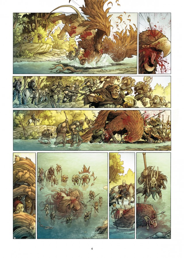 Elfes tome 8_ planche