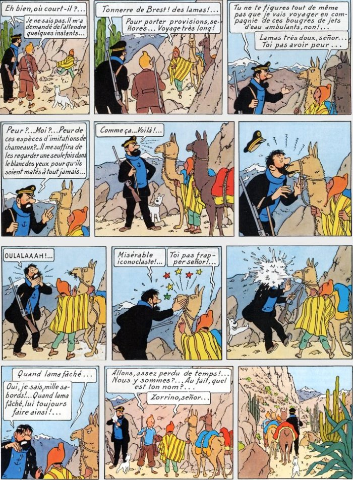 Tintin tome 14_ planche