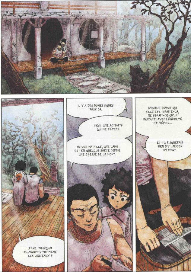 Freaks' Squeele Rouge tome 1_ planche