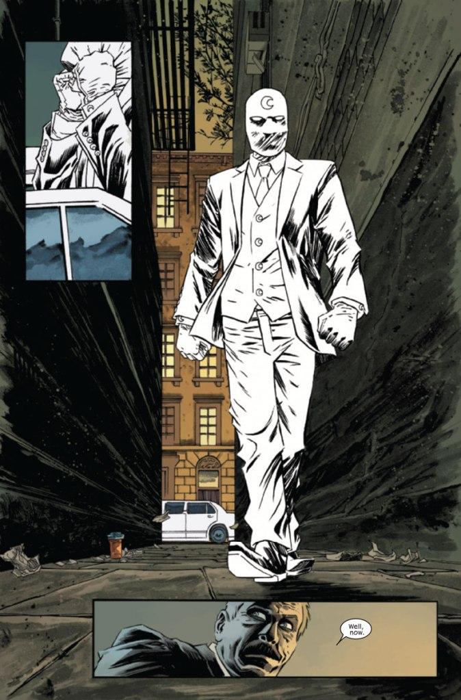 100% Marvel Moon Knight Revenu d'entre les morts_ planche