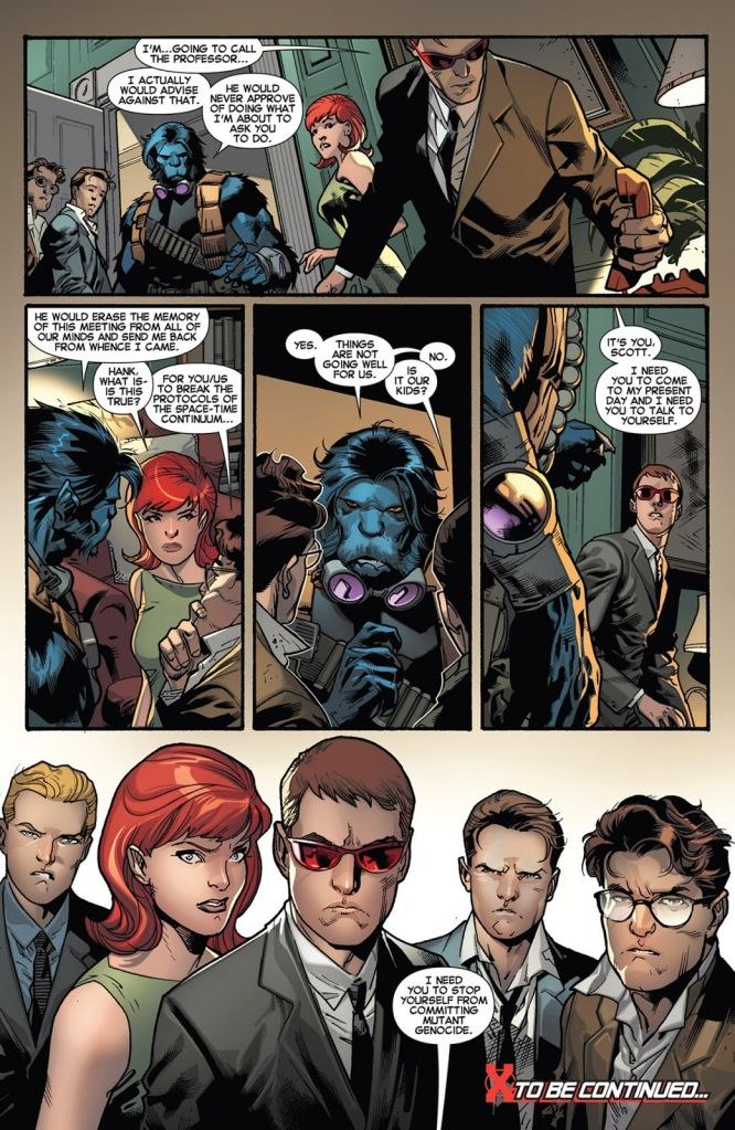 All New X-Men tome 1_ planche