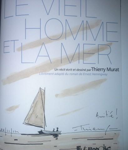 Dédicace Thierry Murat BD Boom Novembre 2014