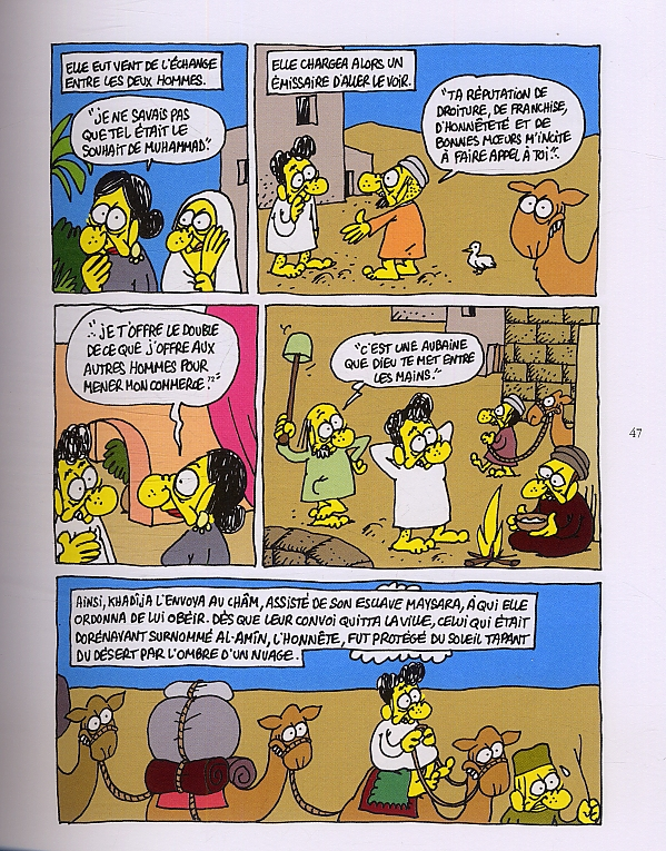La vie de Mahomet_ Charb_ planche