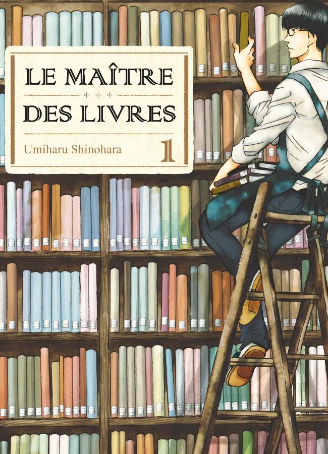Le maître des livres tome 1