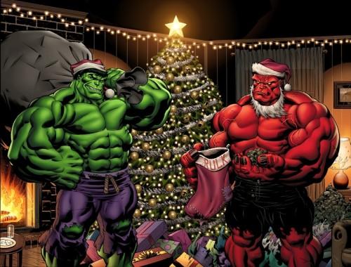 Marvel-Christmas-green-Hulk-red