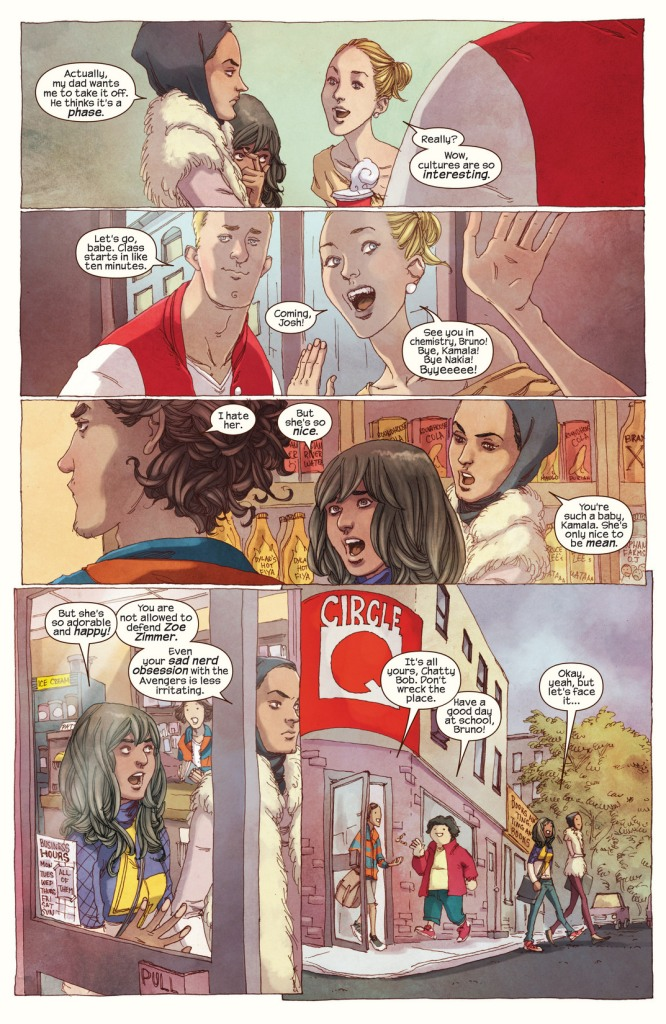 Miss Marvel tome 1_ planche