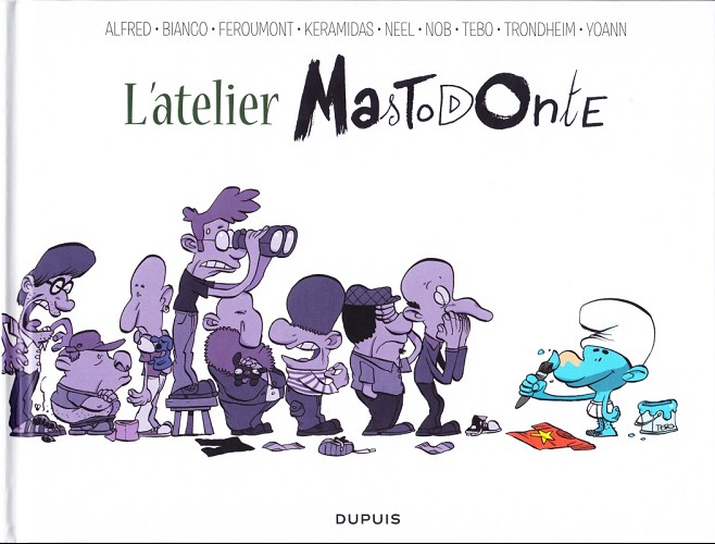 L'atelier Mastodonte tome 2