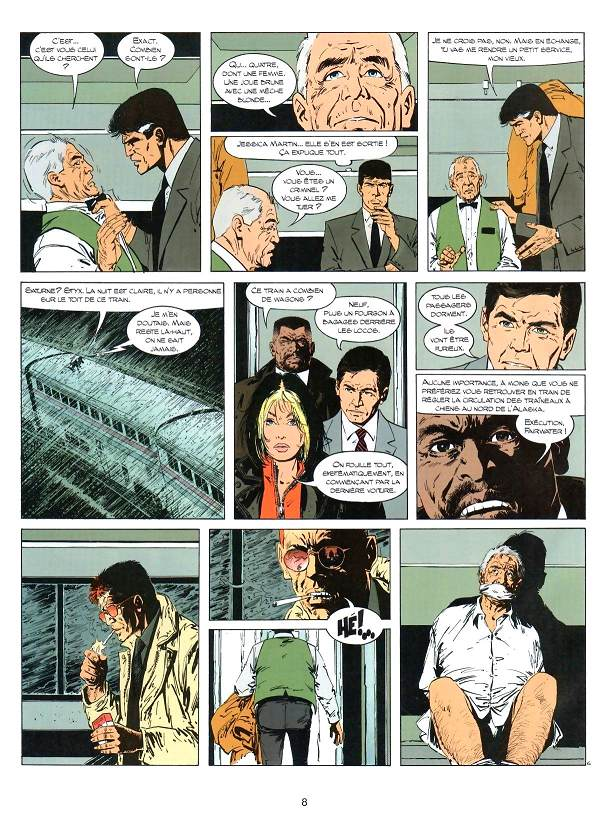 XIII tome 15_ planche