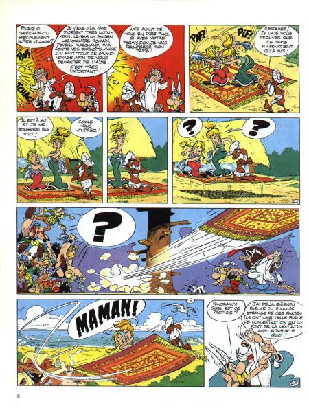 Astérix tome 28_ planche
