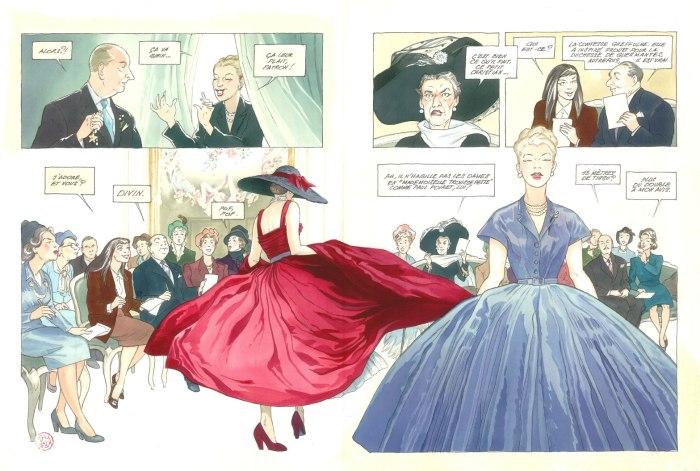 Jeune fille en Dior_ planche